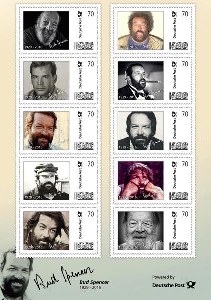 Bud Spencer Briefmarken