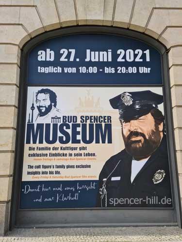 Bud Spencer Ausstellung in Berlin