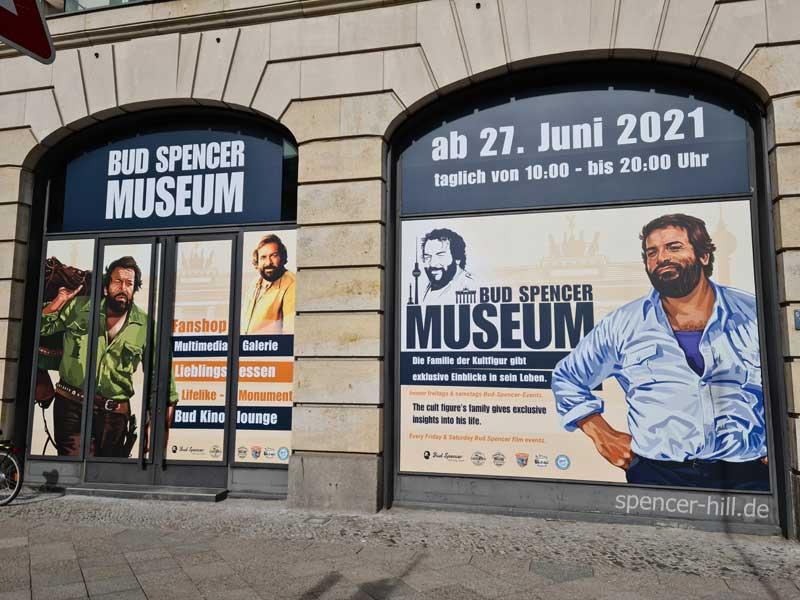 Bud Spencer Museum eröffnet im Juni 2021