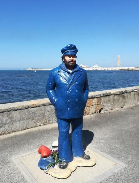 Bud Spencer Statue