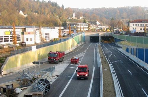 Gmünder Einhorn-Tunnel / Bud Spencer Tunnel