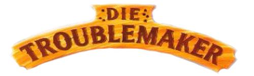 Die Troublemaker Bud Spencer und Terence Hill Film Cover Schriftzug Logo