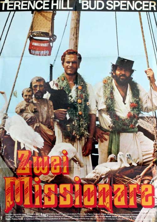 Zwei Missionare Filmposter Filmplakate Deutsch