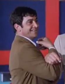 Schauspieler, Stuntman und Zirkusartist Franco Ukmar im Film Zwei ausser Rand und Band