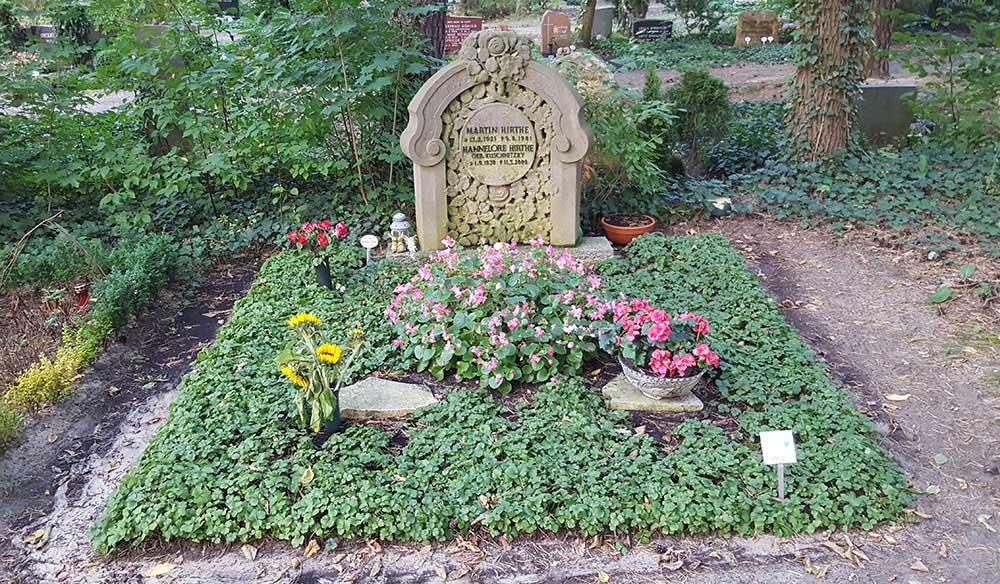 Grab von Martin Hirthe