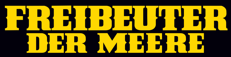 Freibeuter der Meere Bud Spencer und Terence Hill Film Cover Schriftzug Logo