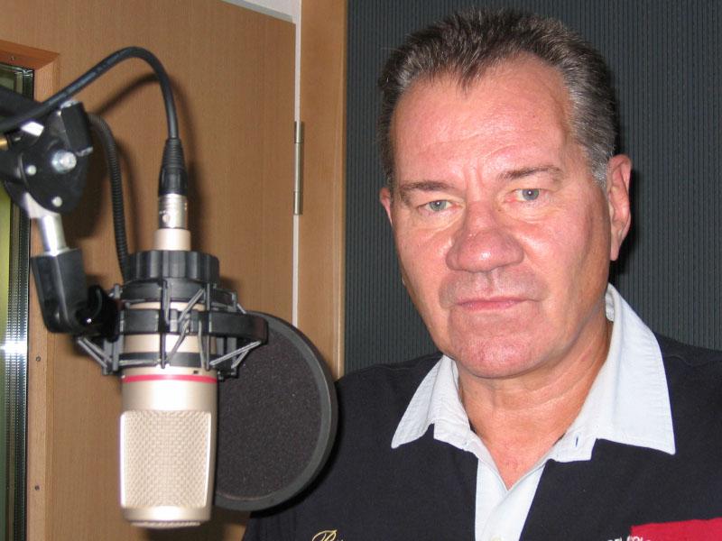 Synchronsprecher und Schauspieler Manfred Lehmann
