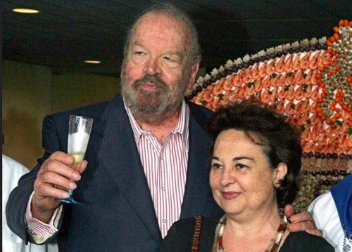 Maria Amato und Bud Spencer