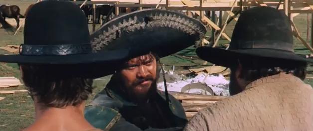 """Mescal Mexikaner Boss im Film """"Die rechte und die linke Hand des Teufels"""""""