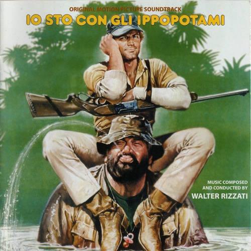 Das Cover vom Soundtrack Das Krokodil und sein Nilpferd von Walter Rizzati
