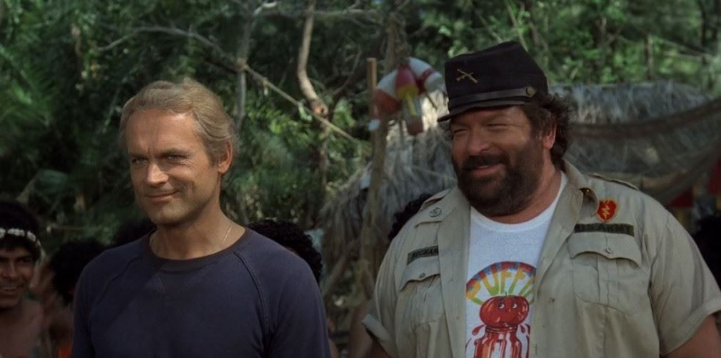 Bud Spencer und Terence Hill im Film Zwei Asse trumpfen auf