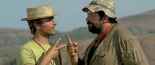 Zwei Himmelhunde auf dem Weg zur Hölle Film mit Terence Hill und Bud Spencer