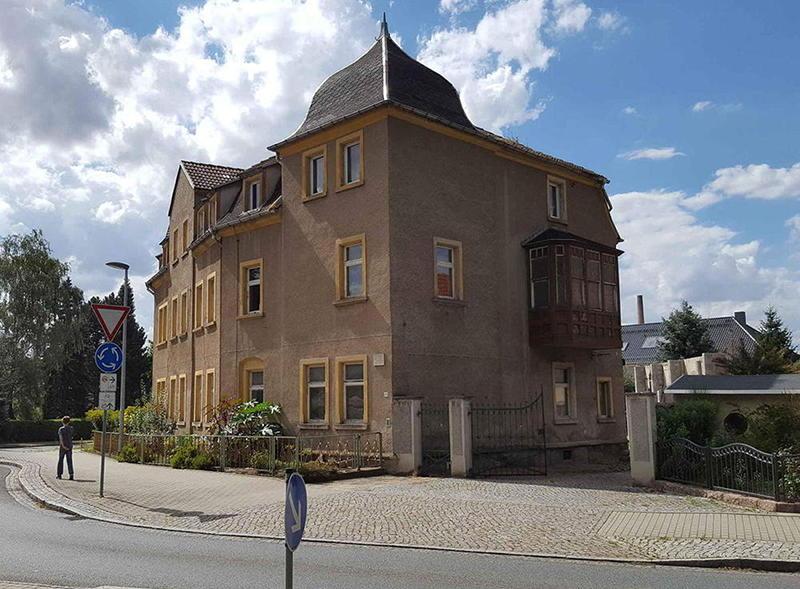 Wohnhaus in Lommatzsch wo Terence Hill in seiner Kindheit lebte