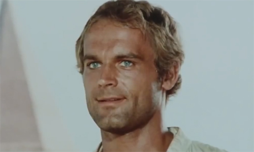 Terence Hill in Zwei Missionare