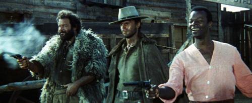 Vier für ein Ave Maria Film von 1968 mit Bud Spencer und Terence Hill