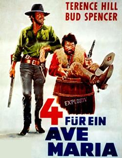 Vier für ein Ave Maria Film mit Bud Spencer und Terence Hill