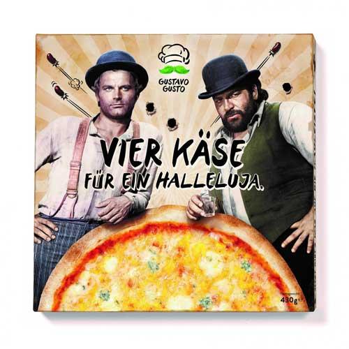 Vier Käse für ein Halleluja Pizza von Gustavo Gusto